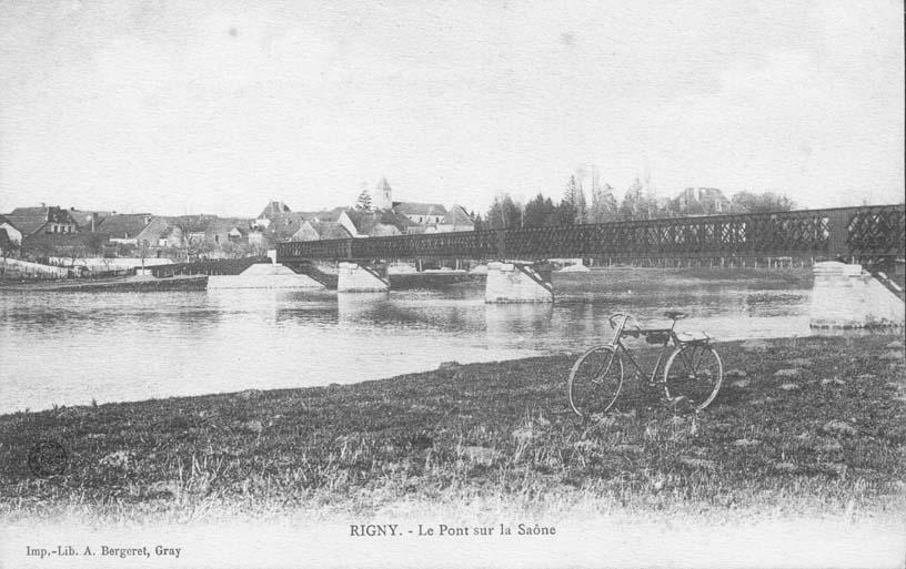 Le pont sur la Saône
