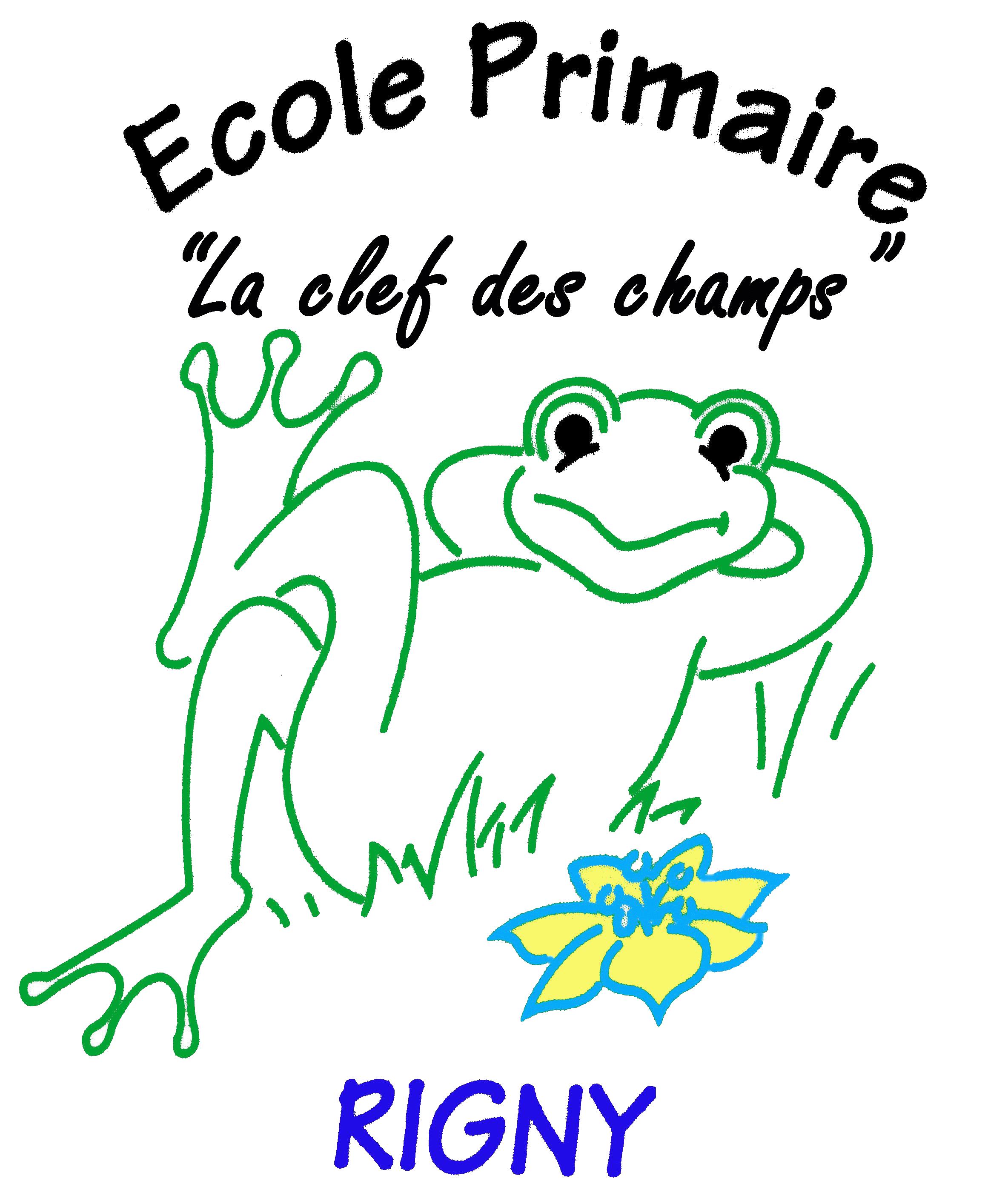 Logo Ecole_Rigny Clef des champs